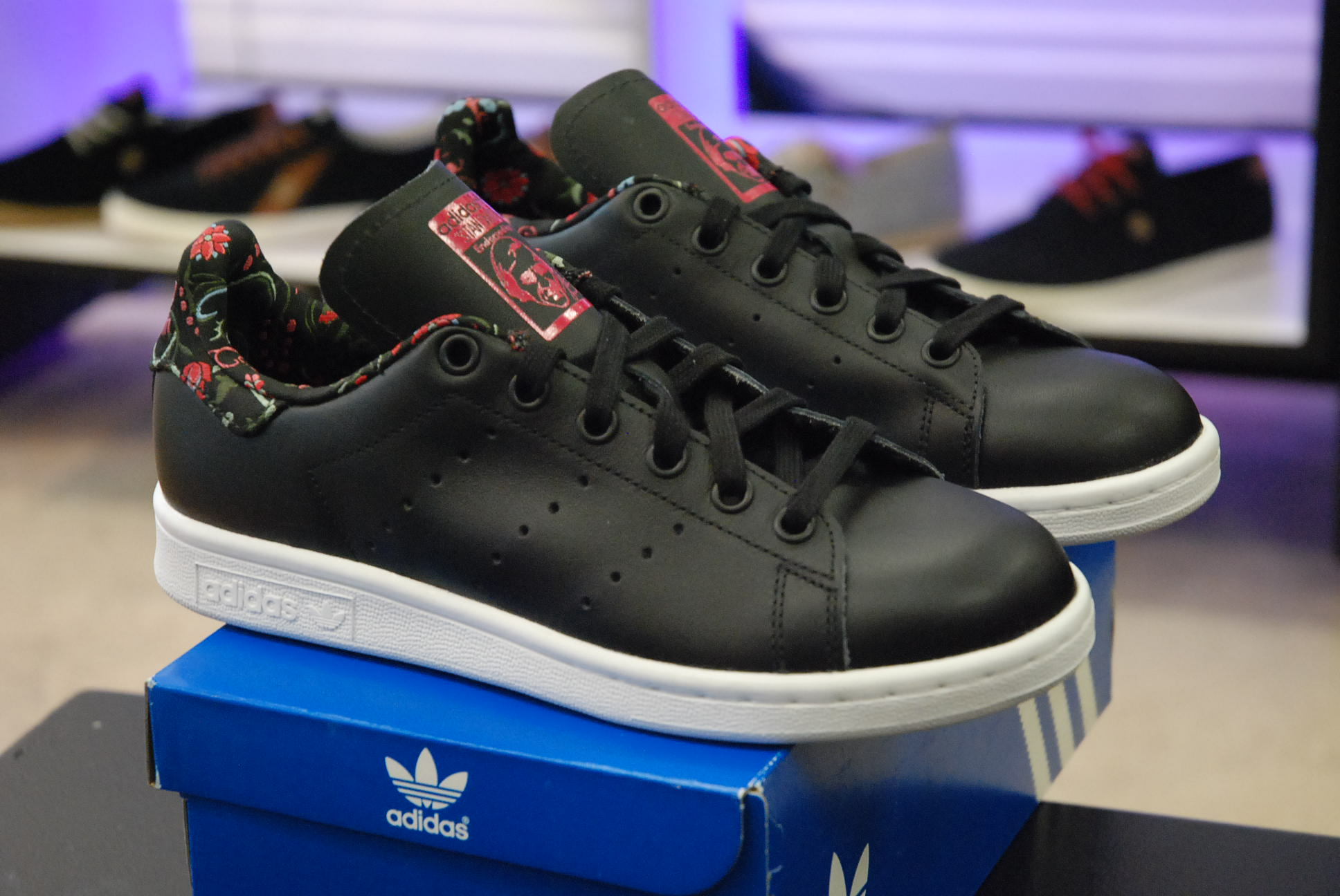 Meilleures chaussures adidas Stan Smith Flowers Femme